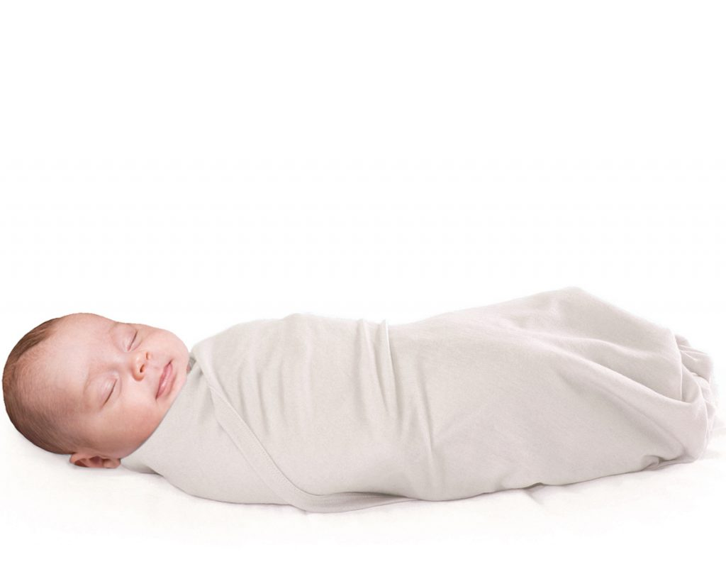 Benefits of swaddling a baby in merino