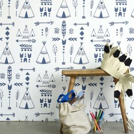 Teepees wallpaper