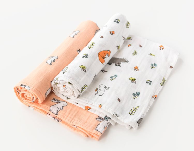 nursery woodland swaddle