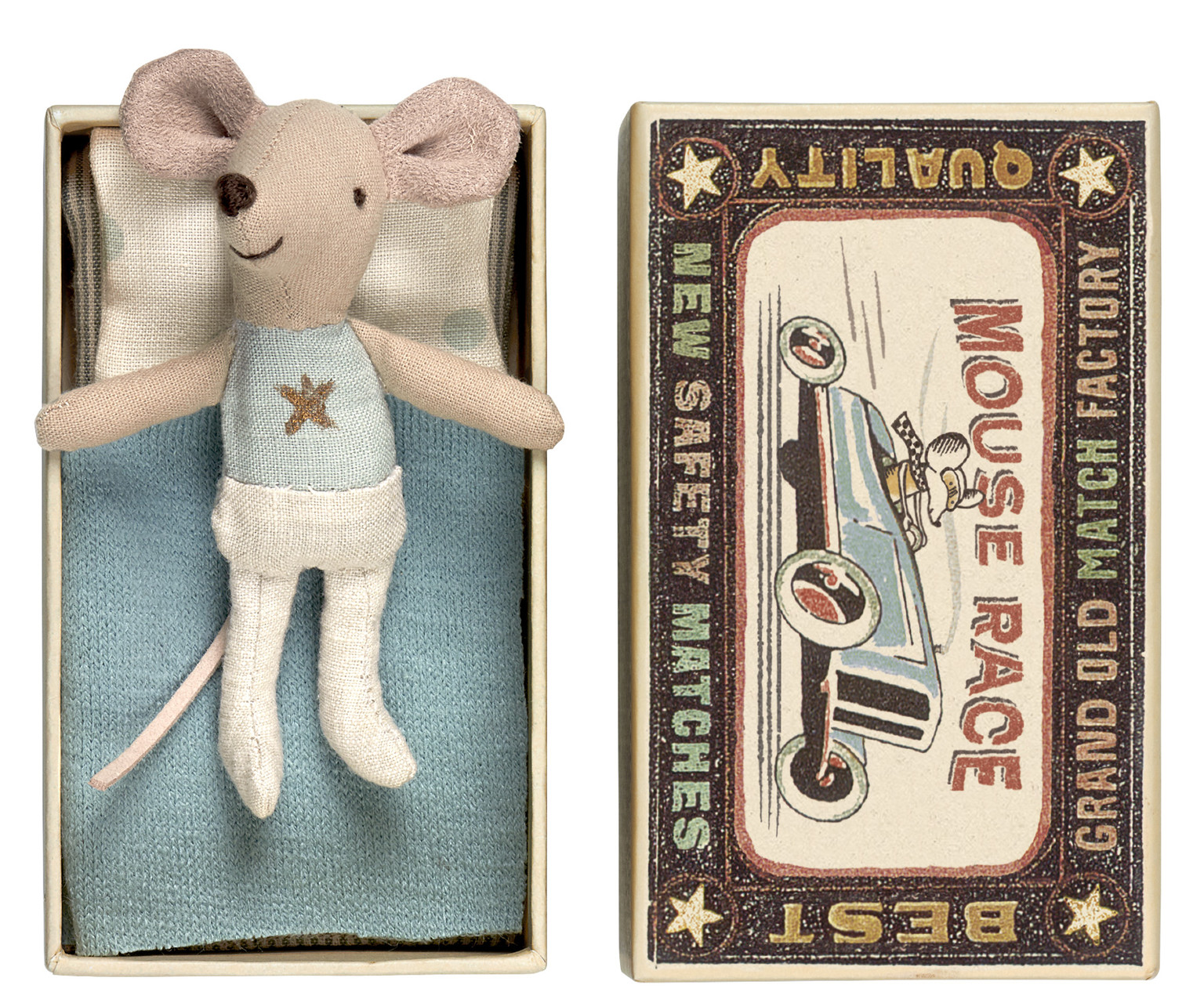 maileg matchbox mouse